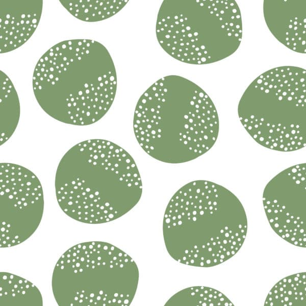 green circle wallpaper roll
