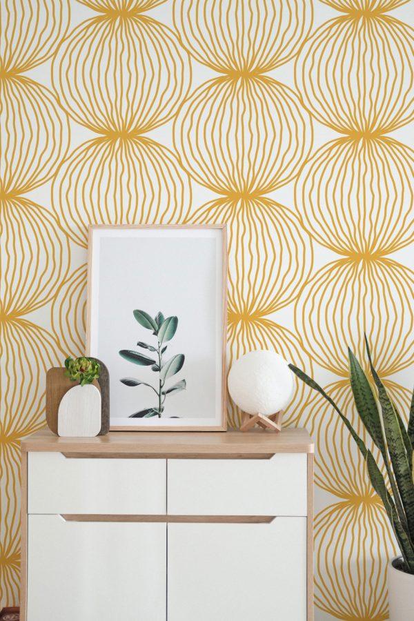 wallpaper example in living room