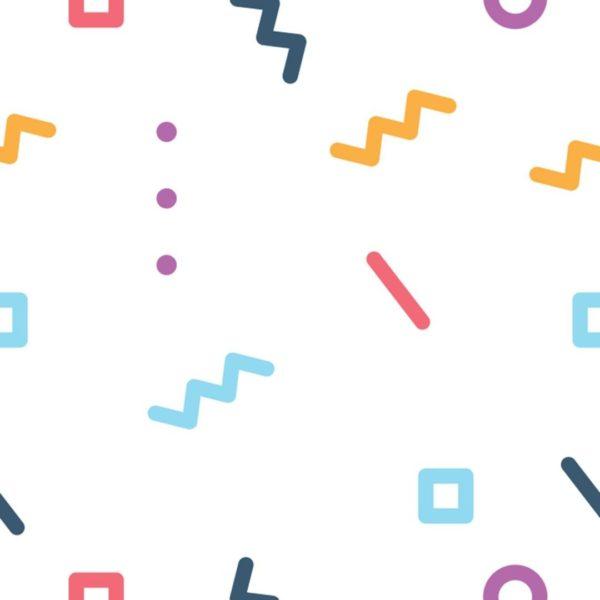 geometric line stick and peel wallpaper