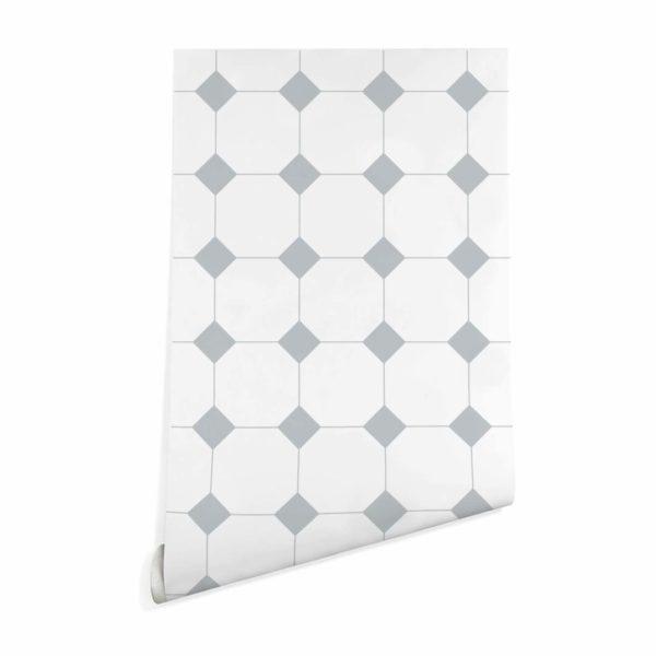 minimalistic tile peel stick wallpaper