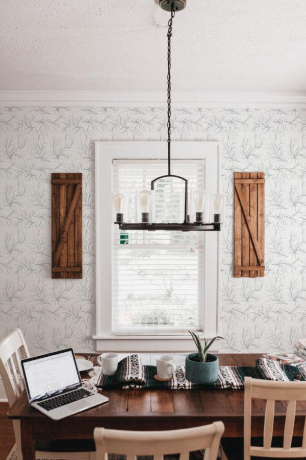 organic stick and peel wallpaper