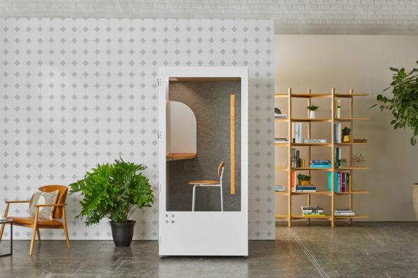 gray and white minimalistic tile self-adhesive wallpaper