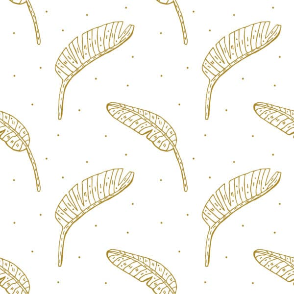 boho leaf peel stick wallpaper