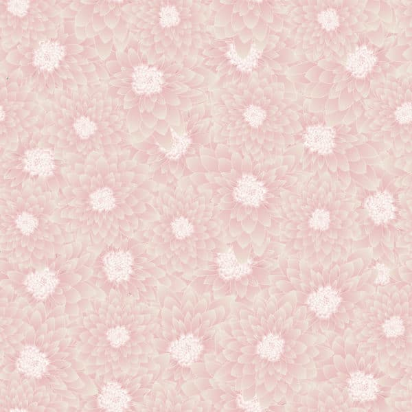 chrysanthemum floral peel stick wallpaper