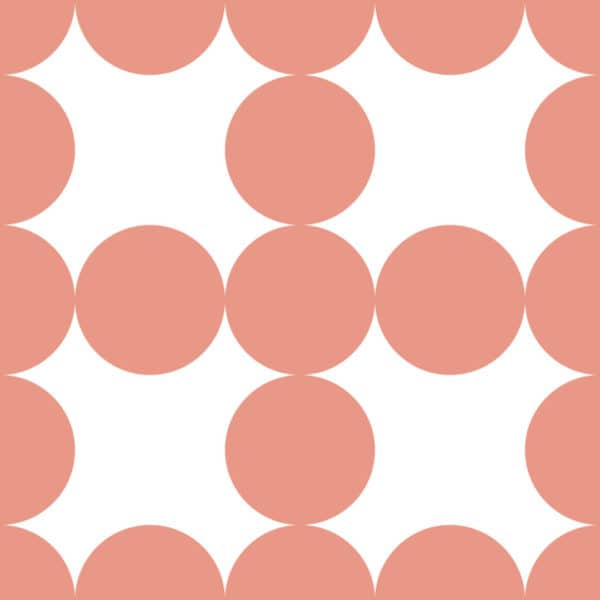 mauve and white circle grid wallpaper peel and stick