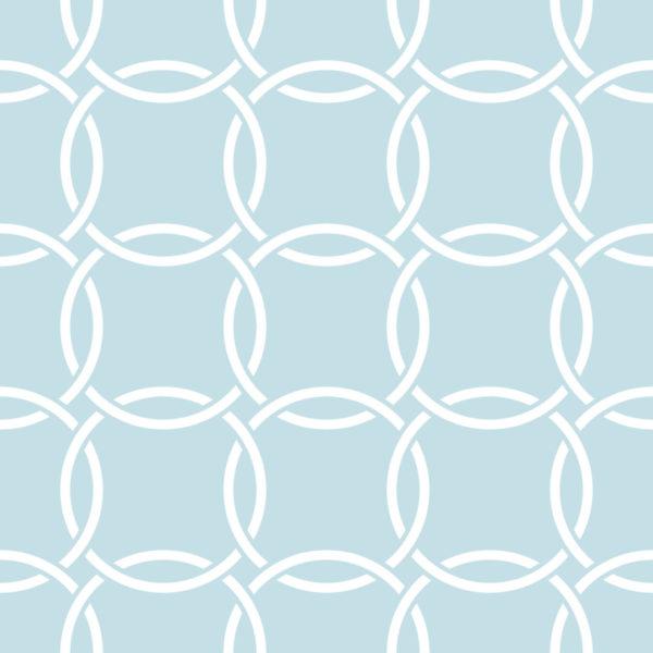 blue circle wallpaper peel and stick