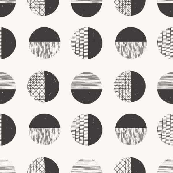 circles peel stick wallpaper