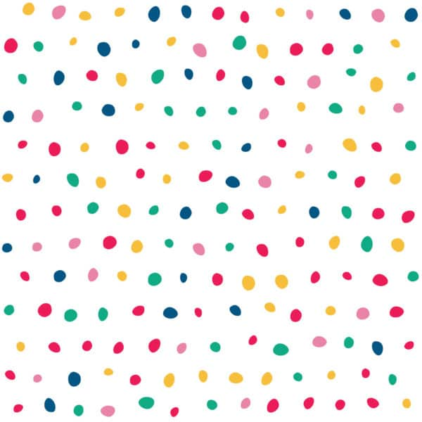 red colorful polka dot peel and stick removable wallpaper