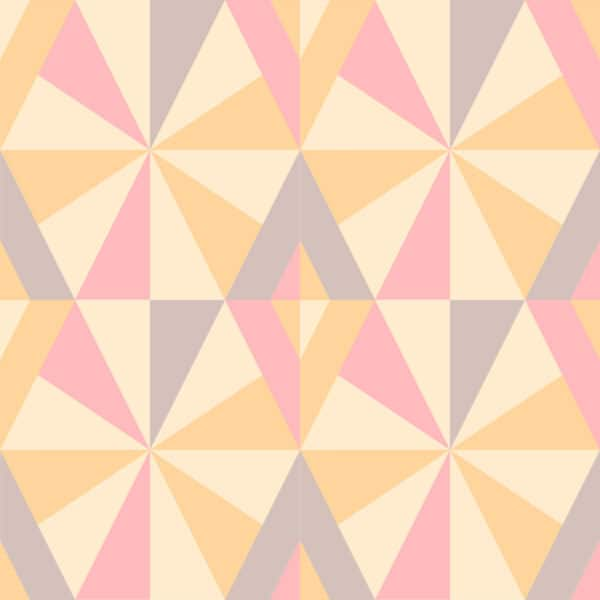 pink colorful retro peel and stick removable wallpaper