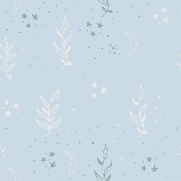 delicate plant peel stick wallpaper