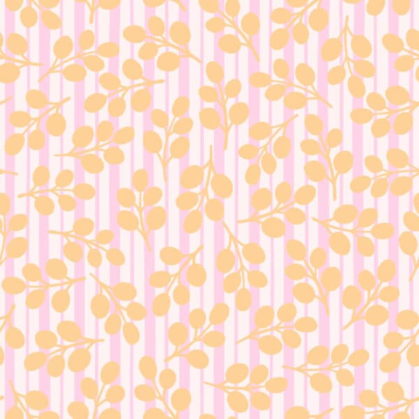 floral and stripes peel stick wallpaper