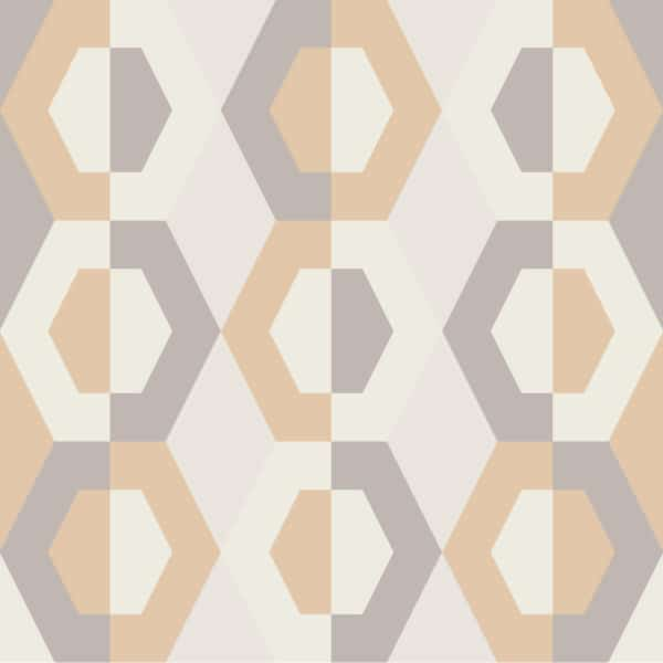 beige geometric wallpaper peel and stick
