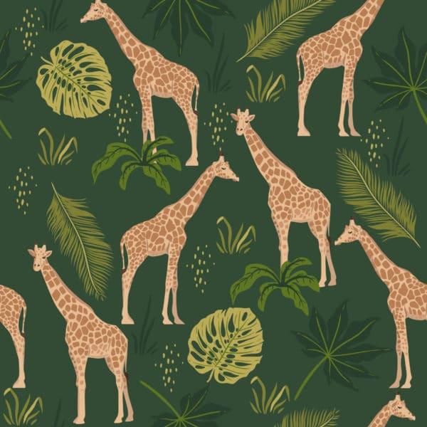giraffe peel stick wallpaper