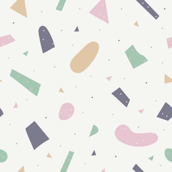 pink large terrazzo peel and stick removable wallpaper