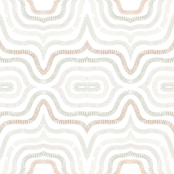modern boho abstract peel stick wallpaper