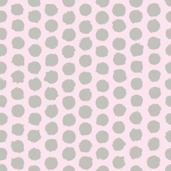 gray polka dots self-adhesive wallpaper