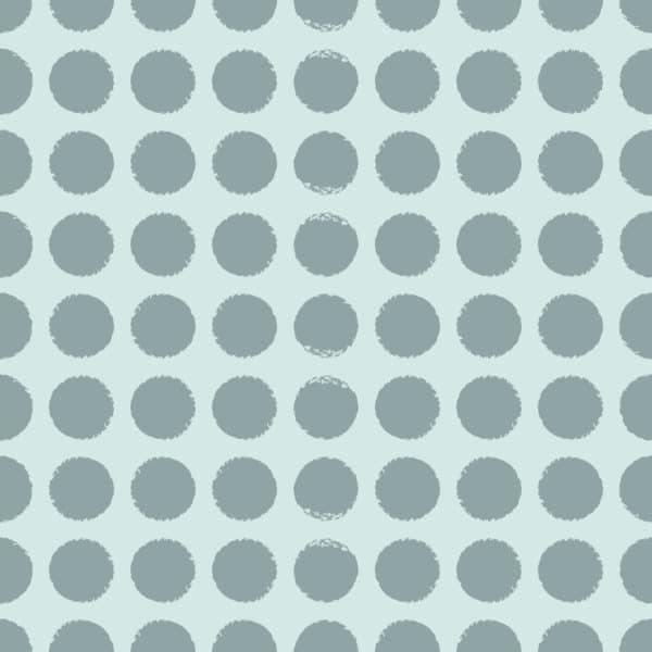 blue polka dots self-adhesive wallpaper