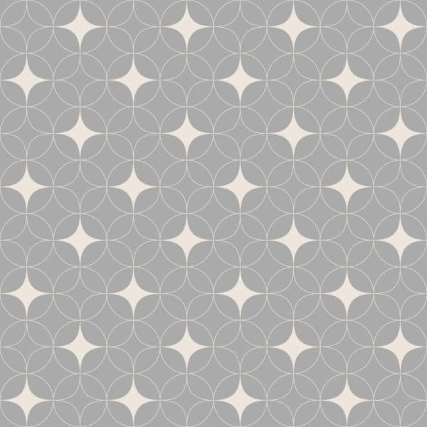gray and beige retro geometric peel and stick removable wallpaper