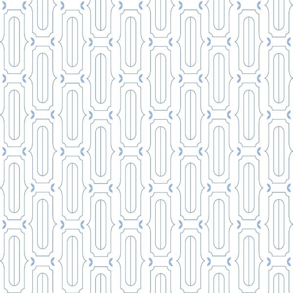 blue and white retro scandinavian peel and stick removable wallpaper