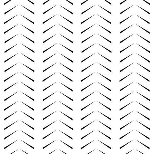 black simple herringbone self-adhesive wallpaper