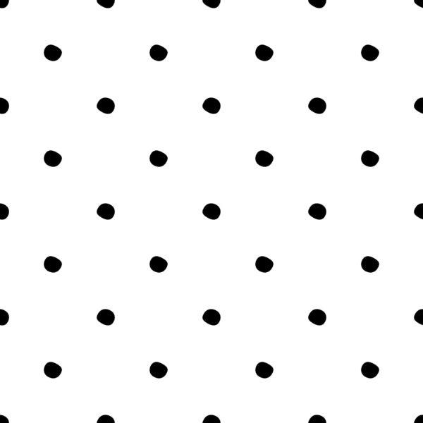 black simple polka dots self-adhesive wallpaper