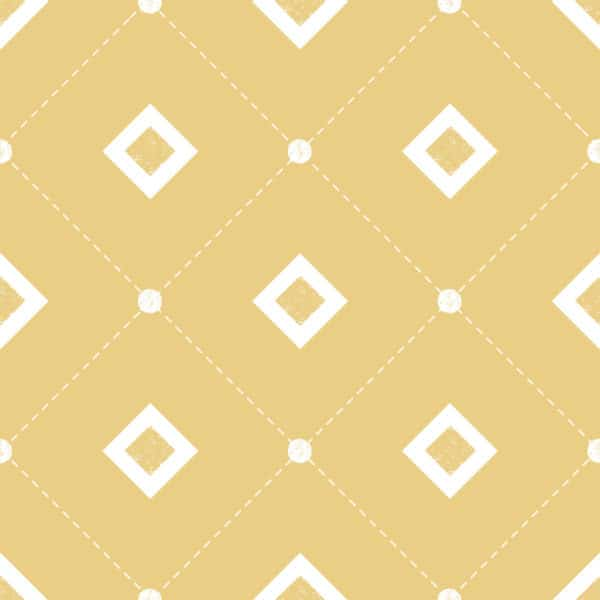 yellow square self-adhesive wallpaper