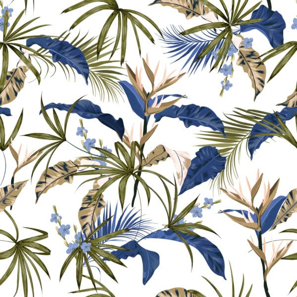 green tropical leaf peel and stick removable wallpaper
