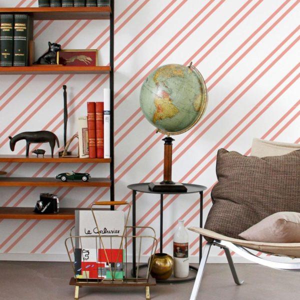 line peel stick wallpaper