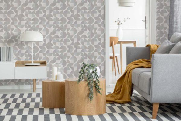 beige retro wallpaper peel and stick