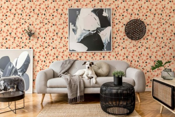 removable colorful wallpaper